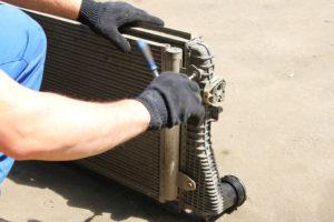 промывка радиаторов шкода